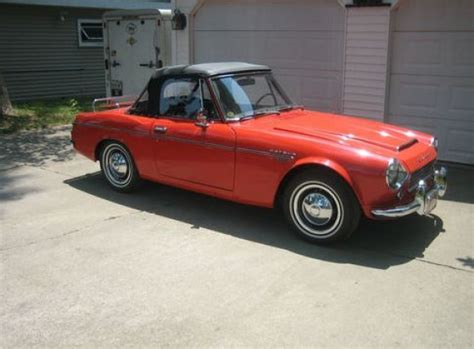 Datsun 1600 For Sale by 1969 Datsun 1600 Roadster Bring A Trailer