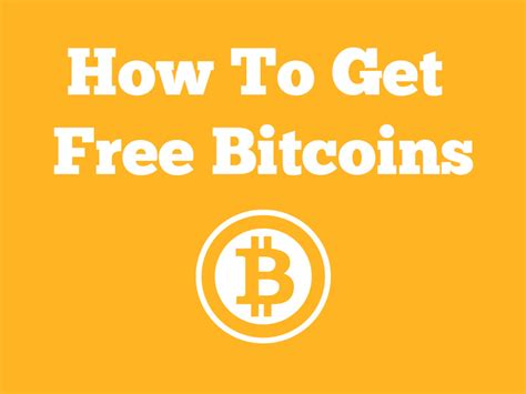 Get Bitcoin Instantly by Teach You How To Get Free Bitcoins Without Mining For 1