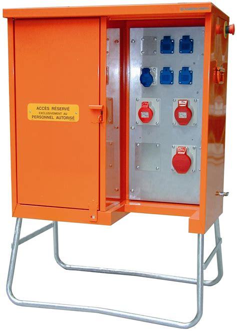 coffret electrique de chantier elecmat t 244 tes installation coffret 233 lectrique provisoire location de bungalow