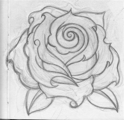 roses drawings simple rose drawing house decor