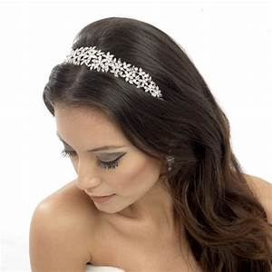 Floral Wedding Headband Serena Zaphira Bridal