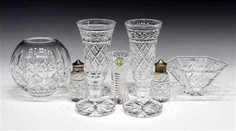 waterford crystal table ls 9 waterford cut crystal table items special italian