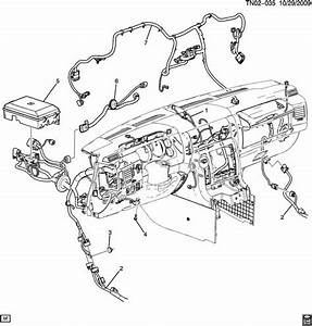 2008 Hummer H2 Suv Sut Dash Chassis Wiring Harness