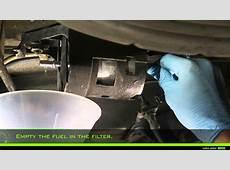 Valeo Fuel Filter filtment of fuel filter in line type