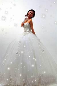 Beautiful sparkle wedding dress white princess dresses for Princes wedding dress