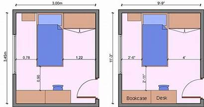 Bedroom Layouts Bed Layout Kid Dimensions Measurements