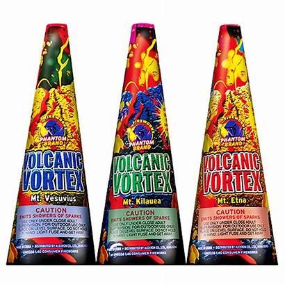 Fireworks Vortex Ground Volcanic Fountains Aerial Non