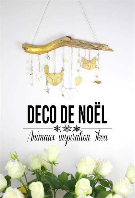 diy de noel decoration en forme d animaux avec du plastique dingue inspiration ikea diy