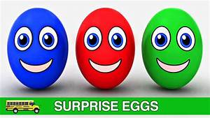 Learning Colors for Toddlers Surprise Eggs & Cars Colours ...