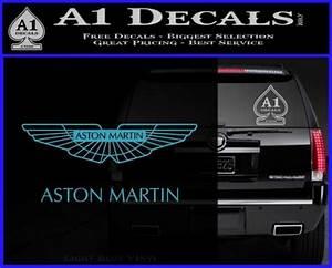 Tip Chart Aston Martin Logo Decal Sticker A1 Decals