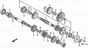 Honda Motorcycle 1984 Oem Parts Diagram For Transmission