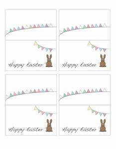 free printable easter place cards pinterest places With easter name tags template
