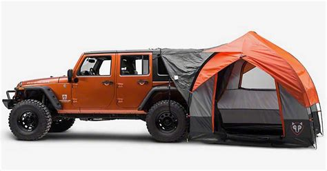 jeep tent inside rightline gear suv cing tent for jeep wrangler insidehook