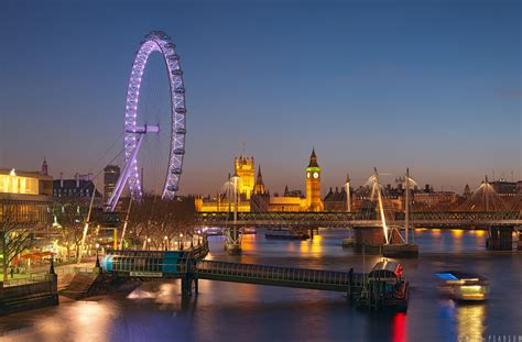 waterloo bridge london  pearson panoramic