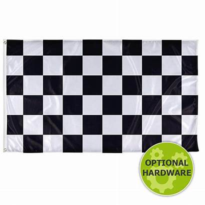 Flag Checkered Thin Line Vispronet Usa