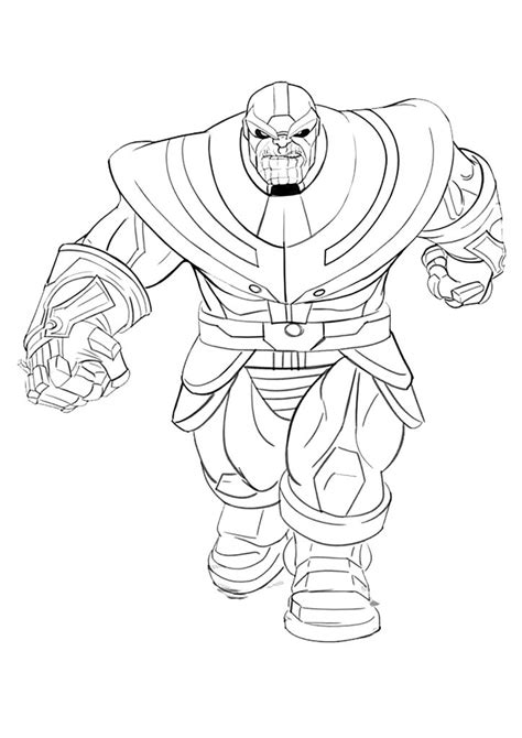 thanos coloring pages  coloring pages  kids