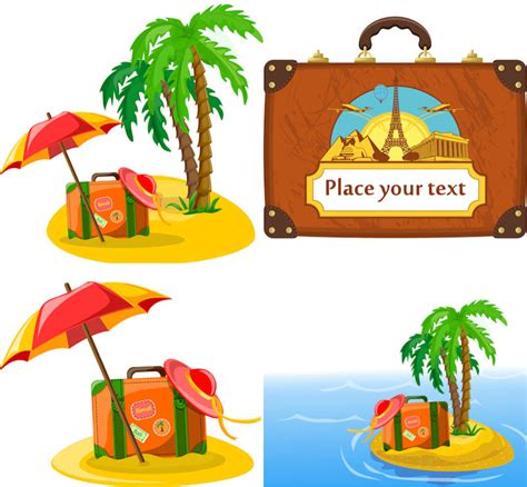Vacation Clipart Travel Vector Graphics Page 2