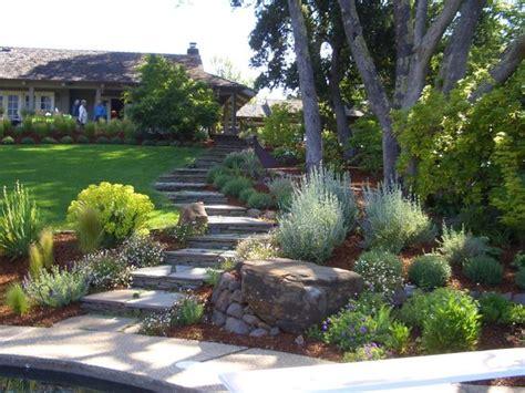 landscaping a sloped front yard sloped front yard landscaping
