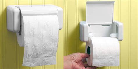 Product Of The Week Easy Load Toilet Paper Holder by Product Of The Week Easy Load Toilet Paper Holder
