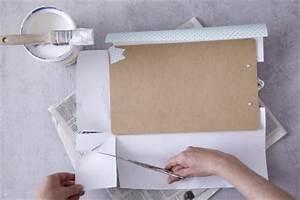 Klemmbrett Selber Machen : do it yourself schreibtisch accessoires living at home ~ Eleganceandgraceweddings.com Haus und Dekorationen