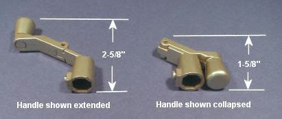 window cranks fit  folding handle kit