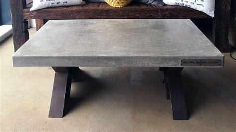 Polished Concrete Coffee Table   By Brutal Design London