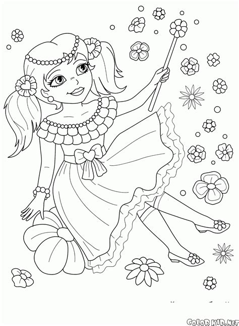 coloring page   princesses
