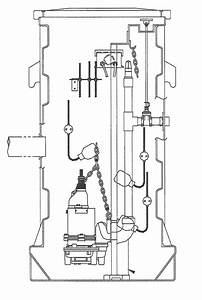 Septic Tank Float Switch And Wiring Schematic