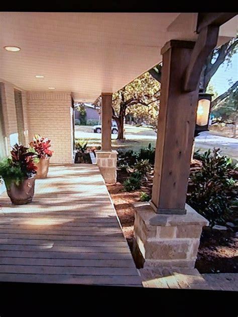 pin  linda behel  columns front porch front door porch