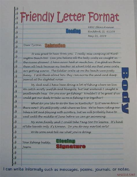 letter format   graders examples  forms
