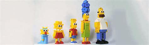 comment fabriquer la famille simpsons en lego korben