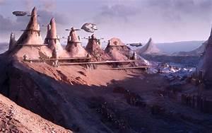 Cityscapes, Futuristic, Science, Fiction, Artwork