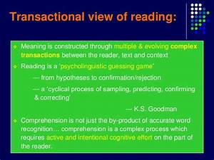 Reading Process From Understanding To Teaching