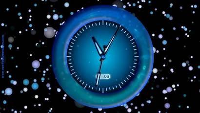 Clock Animated Desktop Wallpapers Mac Screensaver Moving