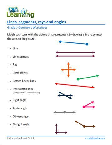 grade geometry worksheets  learning