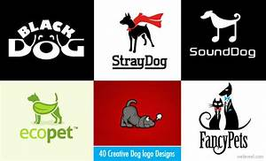 40 Beautiful and Creative Dog logo designs for your ...