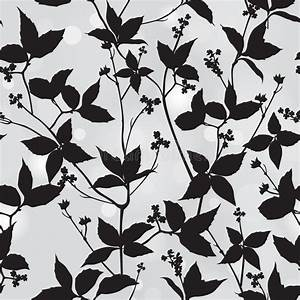 Spring Flourish Texture. Leaves Stylish Wallpaper Royalty ...