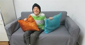 my eight year old sewed new pillows and you can too With best pillow for 8 year old