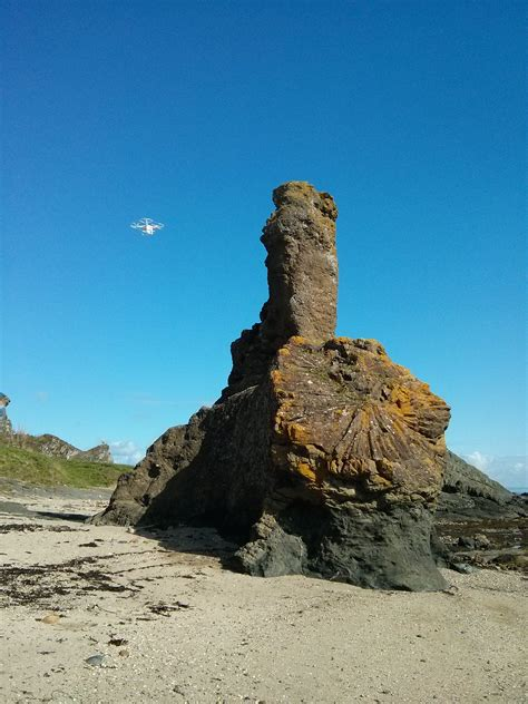 Rock and Spindle | Saltire Aerial Surveys
