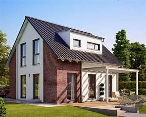 Günstige Häuser Bauen : einfamilienhaus solution 106 v3 mit klinkerfassade living haus ab euro als ausbauhaus ~ Buech-reservation.com Haus und Dekorationen