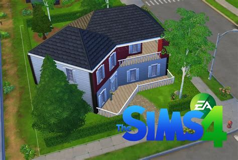 les sims 4 construction d une maison am 233 ricaine