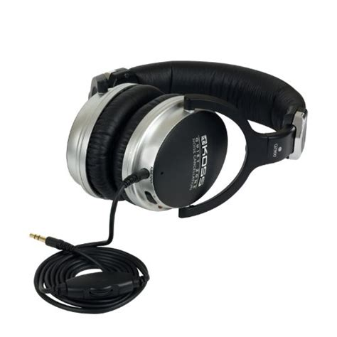 noise cancelling headphones for mowing lawn koss qz900 noise cancellation headphone black home 8965