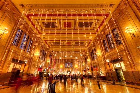 union station s christmas decor photoblog