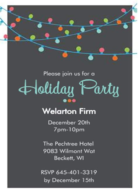 christmas office party invitations company invitations new selection for 2017