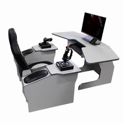 Cockpit Flight Simulator Elite Dangerous Setup Desk