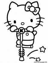 Kitty Hello Coloring Printable Stick Saute Coloring4free Dinokids 360coloringpages Cartoons Ludinet Pogo Lol Toys Play Plane Stencil Surprise Goals Dolls sketch template