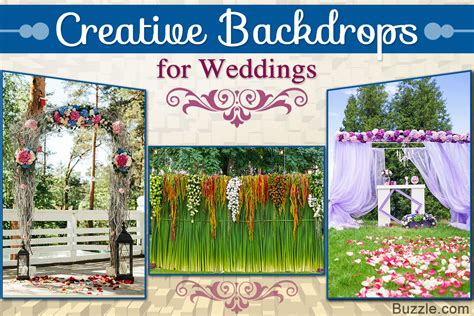 9 marvelous wedding ceremony backdrop ideas for a