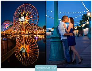 Disneyland + California Adventure Engagement Session