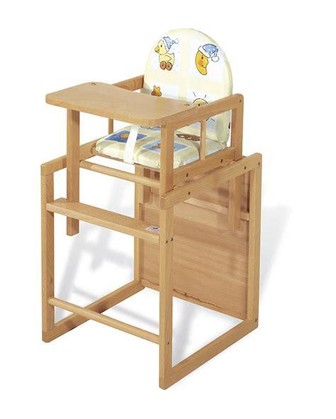 chaise haute pour bébé chaise en bois bebe images