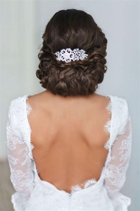 coiffure mariage chignon bas tresse 55 id 233 es romantiques de coiffure mariage cheveux longs